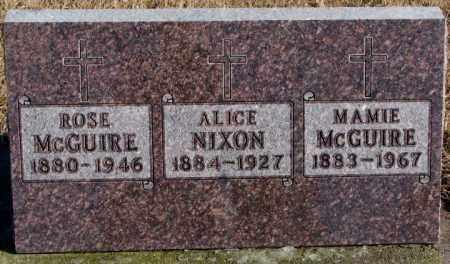 NIXON, ALICE - Charles Mix County, South Dakota | ALICE NIXON - South Dakota Gravestone Photos