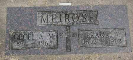 MEIROSE, FRANK J. - Charles Mix County, South Dakota | FRANK J. MEIROSE - South Dakota Gravestone Photos