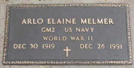 MELMER, ARLO ELAINE - Charles Mix County, South Dakota | ARLO ELAINE MELMER - South Dakota Gravestone Photos