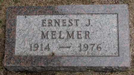 MELMER, ERNEST J. - Charles Mix County, South Dakota | ERNEST J. MELMER - South Dakota Gravestone Photos