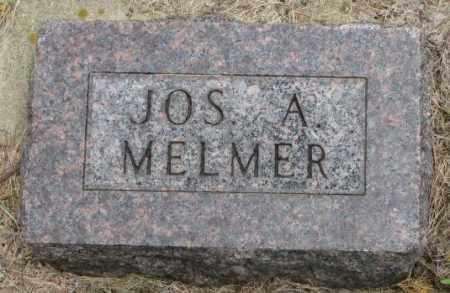 MELMER, JOS. A. - Charles Mix County, South Dakota   JOS. A. MELMER - South Dakota Gravestone Photos
