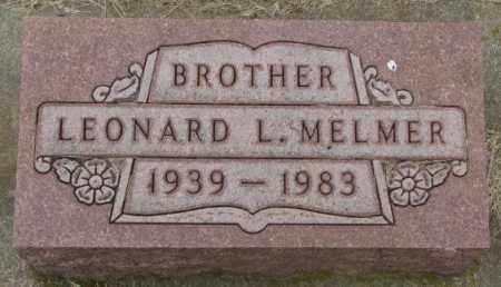 MELMER, LEONARD L. - Charles Mix County, South Dakota | LEONARD L. MELMER - South Dakota Gravestone Photos