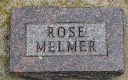 MELMER, ROSE - Charles Mix County, South Dakota   ROSE MELMER - South Dakota Gravestone Photos