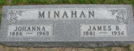 MINAHAN, JAMES B. - Charles Mix County, South Dakota   JAMES B. MINAHAN - South Dakota Gravestone Photos