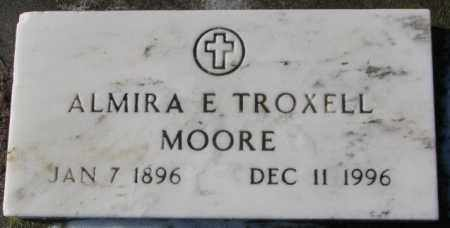 TROXELL MOORE, ALMIRA E. - Charles Mix County, South Dakota | ALMIRA E. TROXELL MOORE - South Dakota Gravestone Photos