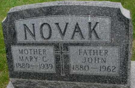 NOVAK, JOHN - Charles Mix County, South Dakota | JOHN NOVAK - South Dakota Gravestone Photos
