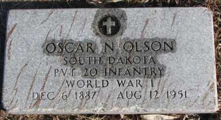 OLSON, OSCAR N. - Charles Mix County, South Dakota | OSCAR N. OLSON - South Dakota Gravestone Photos