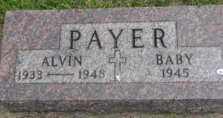 PAYER, BABY - Charles Mix County, South Dakota | BABY PAYER - South Dakota Gravestone Photos