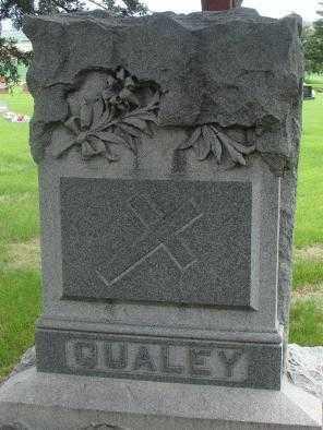 QUALEY, FAMILY PLOT MARKER - Charles Mix County, South Dakota | FAMILY PLOT MARKER QUALEY - South Dakota Gravestone Photos