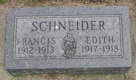 SCHNEIDER, FRANCIS - Charles Mix County, South Dakota | FRANCIS SCHNEIDER - South Dakota Gravestone Photos