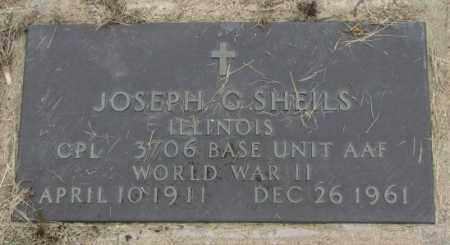 SHEILS, JOSEPH G. - Charles Mix County, South Dakota | JOSEPH G. SHEILS - South Dakota Gravestone Photos