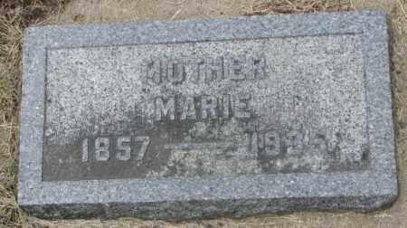 SKVARIL, MARIE - Charles Mix County, South Dakota | MARIE SKVARIL - South Dakota Gravestone Photos