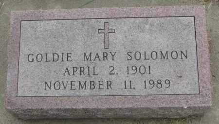 SOLOMON, GOLDIE MARY - Charles Mix County, South Dakota | GOLDIE MARY SOLOMON - South Dakota Gravestone Photos