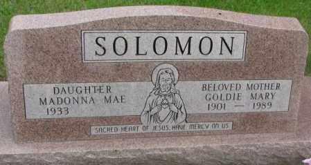 SOLOMON, MADONNA MAE - Charles Mix County, South Dakota | MADONNA MAE SOLOMON - South Dakota Gravestone Photos