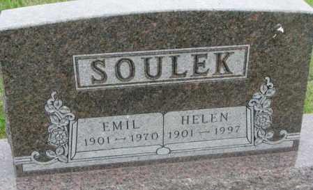 SOULEK, EMIL - Charles Mix County, South Dakota | EMIL SOULEK - South Dakota Gravestone Photos