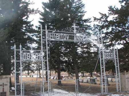 *ST. MARY'S CATHOLIC, ENTRY - Charles Mix County, South Dakota   ENTRY *ST. MARY'S CATHOLIC - South Dakota Gravestone Photos