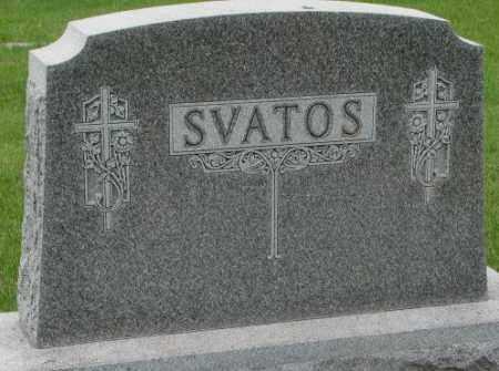 SVATOS, FAMILY PLOT MARKER - Charles Mix County, South Dakota | FAMILY PLOT MARKER SVATOS - South Dakota Gravestone Photos