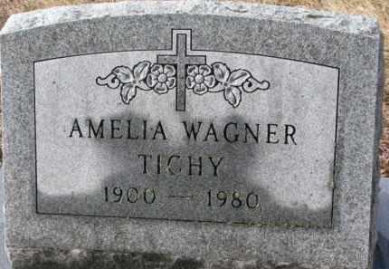 TICHY, AMELIA - Charles Mix County, South Dakota | AMELIA TICHY - South Dakota Gravestone Photos