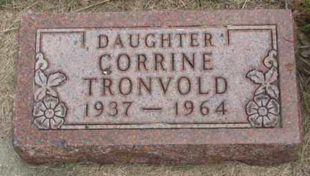 TRONVOLD, CORRINE - Charles Mix County, South Dakota | CORRINE TRONVOLD - South Dakota Gravestone Photos