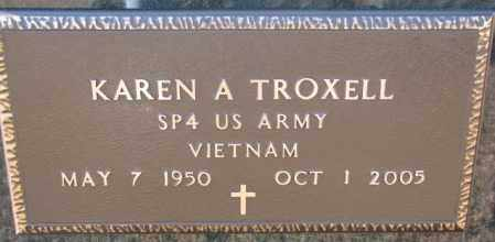 TROXELL, KAREN A. (VIETNAM) - Charles Mix County, South Dakota | KAREN A. (VIETNAM) TROXELL - South Dakota Gravestone Photos