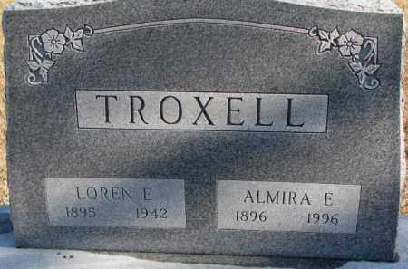 TROXELL, ALMIRA E. - Charles Mix County, South Dakota   ALMIRA E. TROXELL - South Dakota Gravestone Photos
