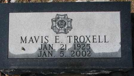 TROXELL, MAVIS E. - Charles Mix County, South Dakota | MAVIS E. TROXELL - South Dakota Gravestone Photos