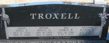 TROXELL, MAVIS E. - Charles Mix County, South Dakota | MAVIS E. TROXELL - South Dakota Gravestone Photos