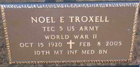 TROXELL, NOEL E. (WW II) - Charles Mix County, South Dakota | NOEL E. (WW II) TROXELL - South Dakota Gravestone Photos