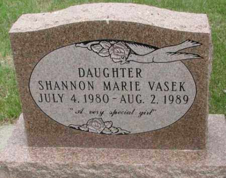 VASEK, SHANNON MARIE - Charles Mix County, South Dakota | SHANNON MARIE VASEK - South Dakota Gravestone Photos