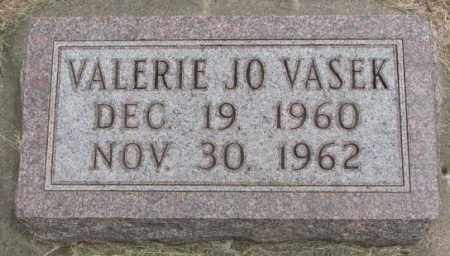 VASEK, VALERIE JO - Charles Mix County, South Dakota | VALERIE JO VASEK - South Dakota Gravestone Photos