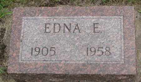 VESELY, EDNA E. - Charles Mix County, South Dakota | EDNA E. VESELY - South Dakota Gravestone Photos