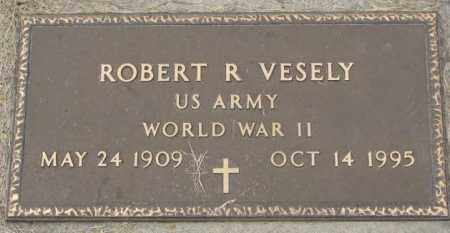 VESELY, ROBERT R. (WW II) - Charles Mix County, South Dakota | ROBERT R. (WW II) VESELY - South Dakota Gravestone Photos