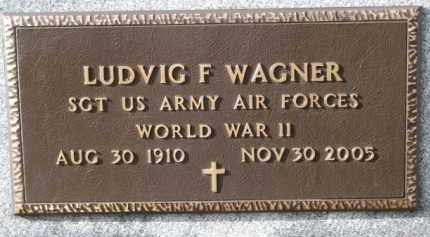 WAGNER, LUDVIG F. (WW II) - Charles Mix County, South Dakota   LUDVIG F. (WW II) WAGNER - South Dakota Gravestone Photos