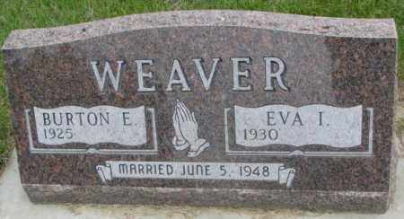 WEAVER, BURTON E. - Charles Mix County, South Dakota | BURTON E. WEAVER - South Dakota Gravestone Photos