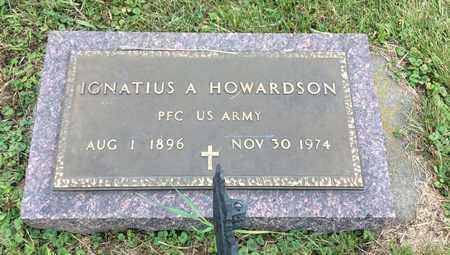 HOWARDSON, IGNATIUS A. - Clark County, South Dakota   IGNATIUS A. HOWARDSON - South Dakota Gravestone Photos