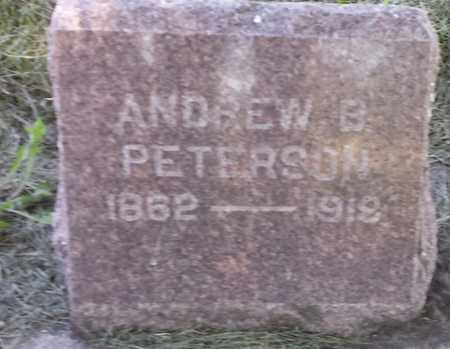 PETERSON, ANDREW B - Clark County, South Dakota | ANDREW B PETERSON - South Dakota Gravestone Photos