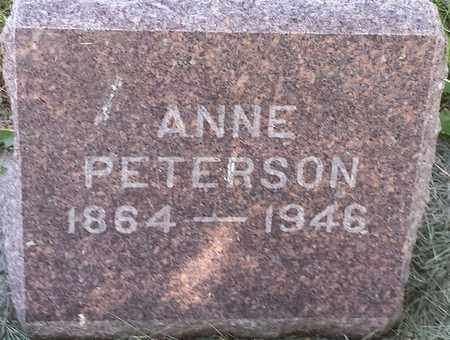 PETERSON, ANNIE - Clark County, South Dakota   ANNIE PETERSON - South Dakota Gravestone Photos