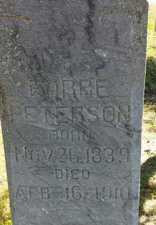 PETERSON, BORRE - Clark County, South Dakota | BORRE PETERSON - South Dakota Gravestone Photos