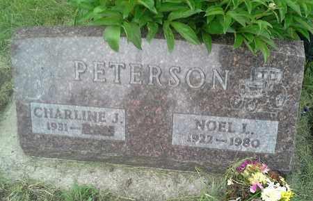 PETERSON, CHARLINE J - Clark County, South Dakota | CHARLINE J PETERSON - South Dakota Gravestone Photos