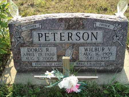 PETERSON, WILBUR VINCENT - Clark County, South Dakota | WILBUR VINCENT PETERSON - South Dakota Gravestone Photos