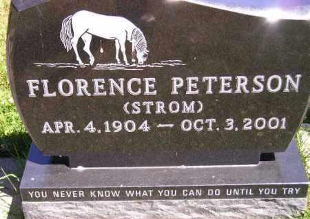 PETERSON, FLORENCE - Clark County, South Dakota | FLORENCE PETERSON - South Dakota Gravestone Photos