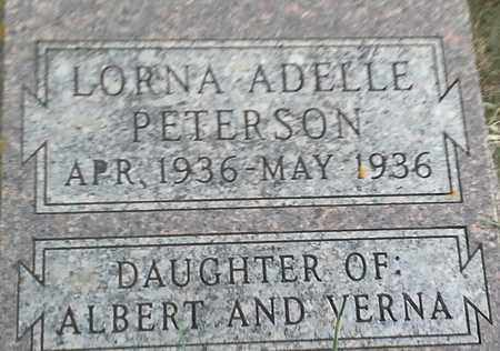 PETERSON, LORNA ADELLE - Clark County, South Dakota | LORNA ADELLE PETERSON - South Dakota Gravestone Photos