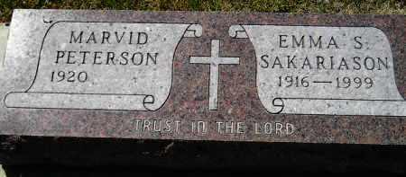 PETERSON, MARVID - Clark County, South Dakota | MARVID PETERSON - South Dakota Gravestone Photos