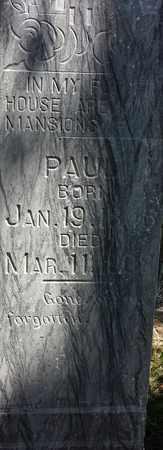 PETERSON, PAUL - Clark County, South Dakota | PAUL PETERSON - South Dakota Gravestone Photos