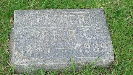 PETERSON, PETER C - Clark County, South Dakota | PETER C PETERSON - South Dakota Gravestone Photos