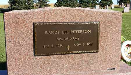 "PETERSON, RANDY LEE ""MILITARY"" - Clark County, South Dakota 
