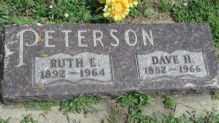 PETERSON, DAVE H - Clark County, South Dakota | DAVE H PETERSON - South Dakota Gravestone Photos