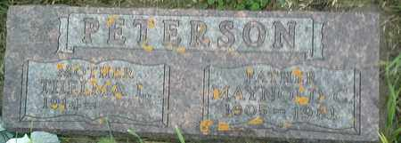 PETERSON, THELMA L - Clark County, South Dakota   THELMA L PETERSON - South Dakota Gravestone Photos