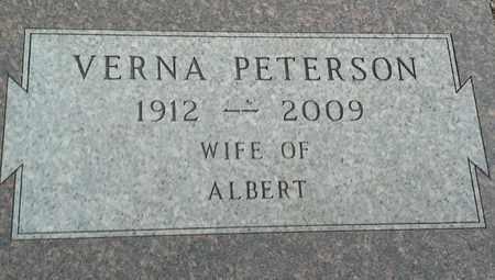 PETERSON, VERNA - Clark County, South Dakota | VERNA PETERSON - South Dakota Gravestone Photos
