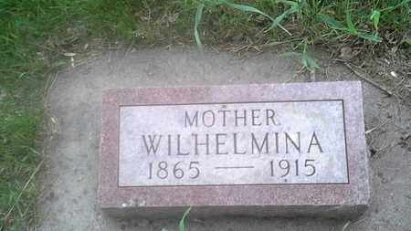 PETERSON, WILHELMINA - Clark County, South Dakota | WILHELMINA PETERSON - South Dakota Gravestone Photos